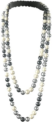 By Malene Birger Grey Pearls Long necklaces