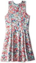 Splendid Littles Abstract Floral Dress (Big Kids)