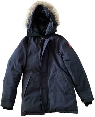 Canada Goose Grey Fur Coats