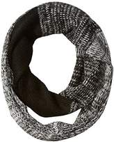 Jessica Simpson Women's Ombre Marled Eternity Scarf, Black, One Size
