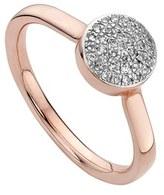 Monica Vinader Women's 'Ava' Diamond Button Ring
