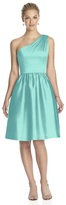 Alfred Sung D530 Bridesmaid Dress in COASTAL