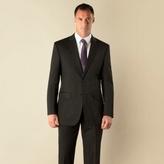 Karl Jackson Black Twill Regular Fit 2 Button Jacket