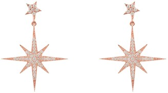 Petite Star Latelita Burst Drop Earring Rosegold