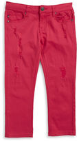 Vigoss Girls 2-6x Little Girls Chelsea Cuffed Capri Jeans