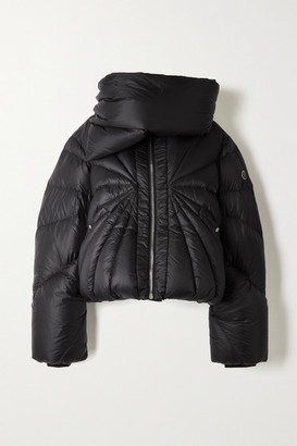Moncler + Rick Owens Tonopah Quilted Shell Down Jacket - Black