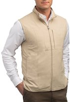 SCOTTeVEST Men's Travel Vest - 23 Pockets Travel Clothing KHA L
