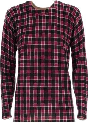 MICHAEL Michael Kors Sweater L/s Crew Neck Check Merino
