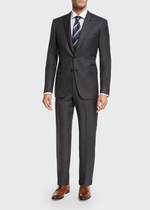 Brioni Men's Brunico Virgin Wool Two-Piece Suit