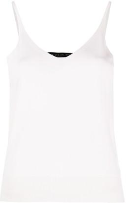 Fabiana Filippi Slim-Fit Woven Tank Top