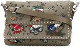 Valentino Garavani Valentino Tattoo Embroidered Messenger bag - men - Cotton/Polyester - One Size
