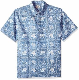 Reyn Spooner Men's Spooner Kloth Classic Pullover Hawaiian Shirt