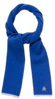 Burberry Boys' Embroidered Lambswool Scarf