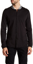 Kenneth Cole New York Long Sleeve Knit Modern Fit Shirt