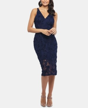Xscape Evenings Lace Midi Dress