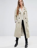 Maison Scotch Long Classic Trench