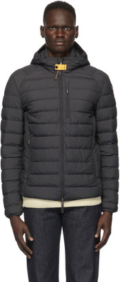 Parajumpers Black Down Last Minute Lightweight Jacket