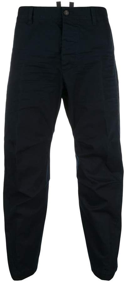 DSQUARED2 casual cropped trousers