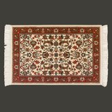 Unknown Rectangular Area Rug 3' X 2' Red Polypropylene