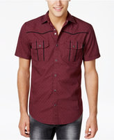 INC International Concepts Men's Piped Dual-Pocket Shirt, Created for Macy's
