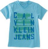 Calvin Klein Graphic-Print T-Shirt, Big Boys (8-20)