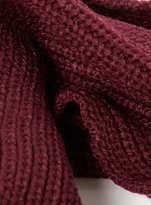 Topman Burgundy Rib Detail Snood