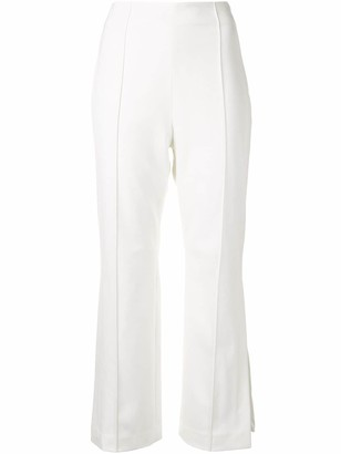 Jonathan Simkhai Cropped Flared Trousers