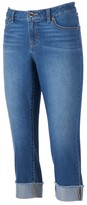JLO by Jennifer Lopez Women's Cuffed Capri Jeans