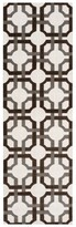 Waverly Artisanal Delight Groovy Grille Tobacco Area Rug by Nourison (2'6 x 8')