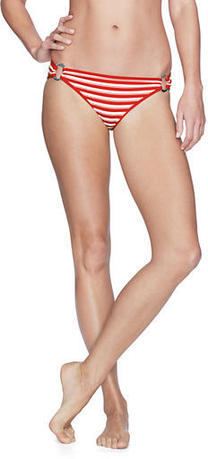 Lands' End Women's Isla Vista Stripe Low Rise Bikini Bottom