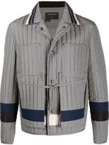 Craig Green panelled quilted worker jacket