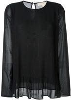 MICHAEL Michael Kors plissé blouse