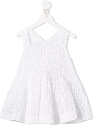 Simonetta Quilted Flared Dress