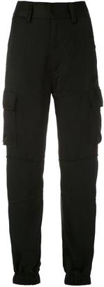 Reinaldo Lourenço High-Waist Cargo Trousers