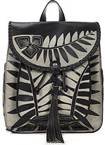 Patricia Nash Cuban Carved Collection Jovanna Tasseled Backpack