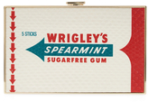 Anya Hindmarch Imperial Wrigley's Spearmint Snakeskin Clutch