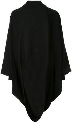 Julius asymmetric draped cardigan