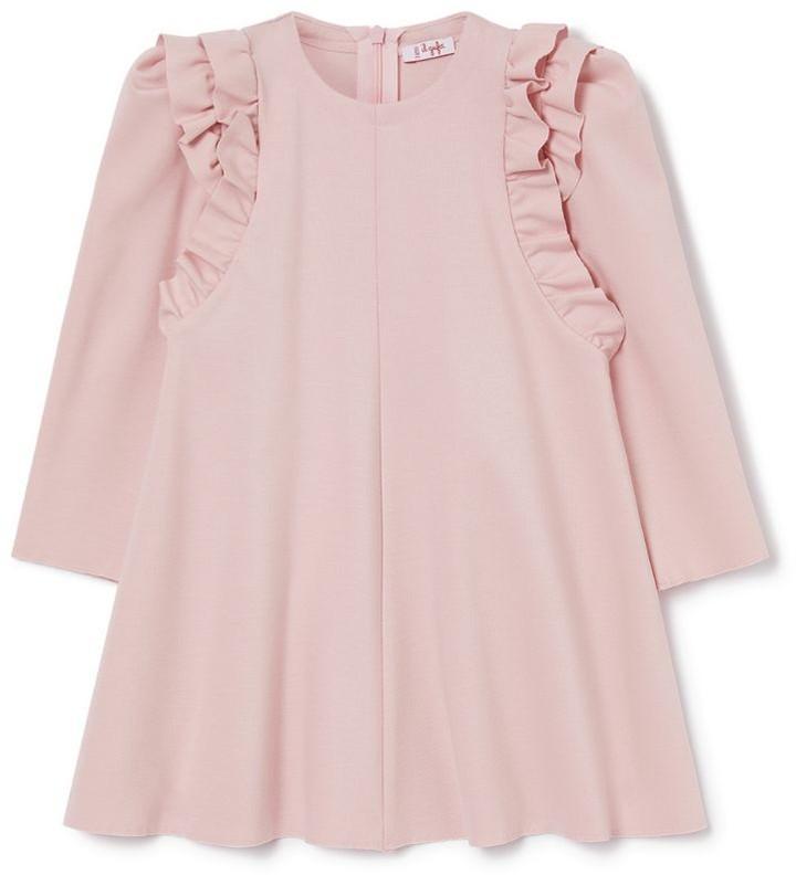 Il Gufo Frill-Detail Dress (3-12 Years)