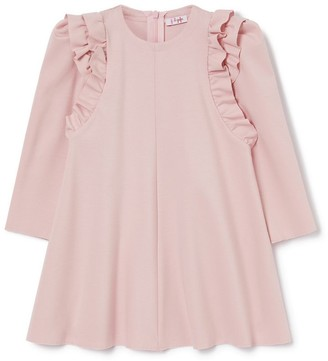 Il Gufo Frill-Detail Dress (3-12 Years)