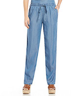 MICHAEL Michael Kors Drawstring Waist Denim Pants