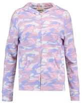 Monrow Printed Jersey Hooded Sweater