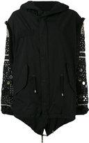 Amen embellished sleeve jacket