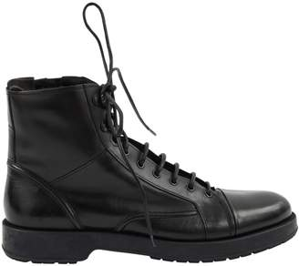 BOSS Black Leather Boots