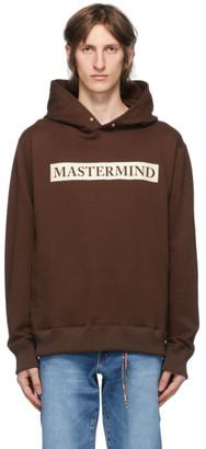 Mastermind Japan Brown Monogram Foam Print Hoodie