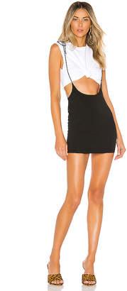 superdown Casey Suspender Mini Skirt