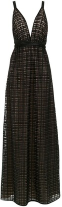 Tufi Duek long lace dress