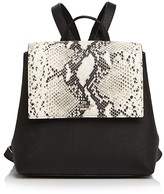 Kate Spade Cameron Street Neema Small Snakeskin-Embossed Leather Backpack