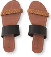 Double-Strap Slide Sandal