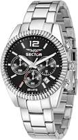 Sector Men's 48mm Steel Bracelet & Case Quartz Dial Analog Watch 3273676003