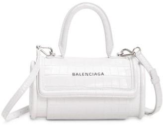 Balenciaga Small Leather Barrel Bag